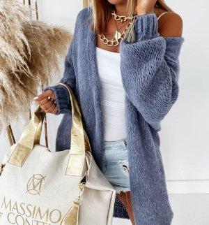 stylelistic Gebreide jas azuur-korenblauw