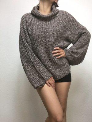 Zaful Oversized Sweater multicolored nylon