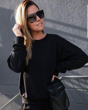 Bastet Sweatshirt zwart