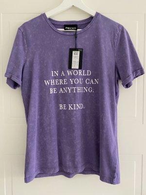 Vero Moda Camisa holgada púrpura