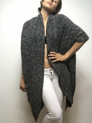 Short Sleeve Knitted Jacket multicolored