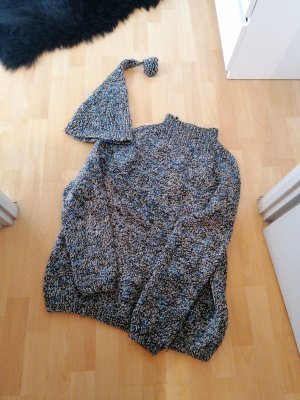 Oversize Woll Pullover Wollpullover Handarbeit Selfmade