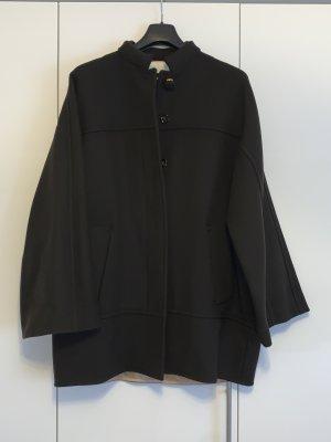 Chloé Manteau oversized brun noir