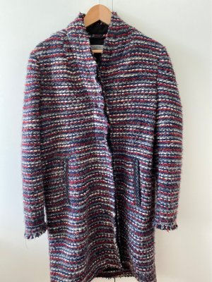 Liebeskind Berlin Cappotto in lana multicolore