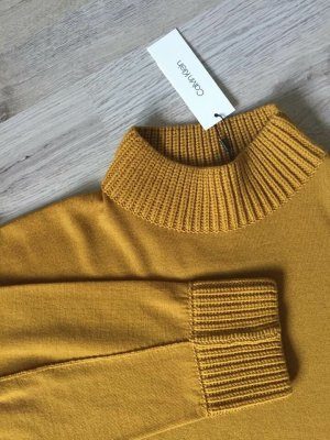 Calvin Klein Maglione di lana ocra Lana