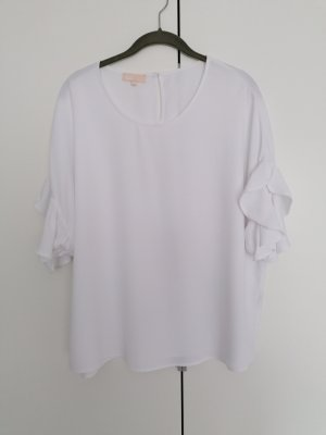 talk about Oversized Blouse white