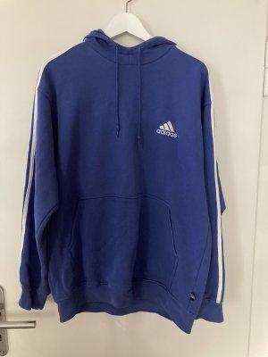 Adidas Hooded Sweatshirt white-blue