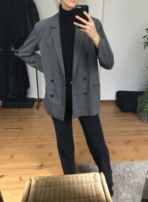 Weekday Blazer stile Boyfriend grigio-grigio scuro Poliestere