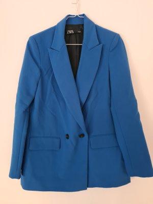 Oversized Blazer, intensiv blau