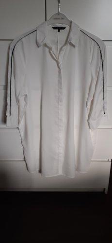 Vero Moda Bluzka oversize w kolorze białej wełny Poliester