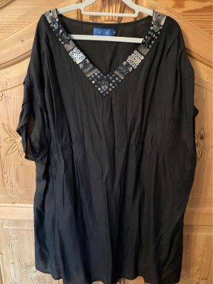 Bluzka oversize czarny
