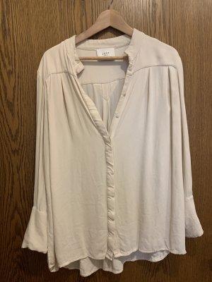 Oversized Bluse von Just Female, Gr. M, Creme/beige