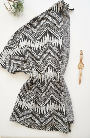 H&M Short Sleeve Knitted Jacket multicolored