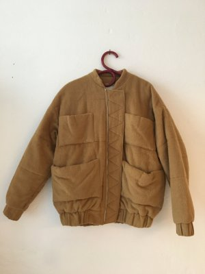Carin Wester Bomber Jacket sand brown