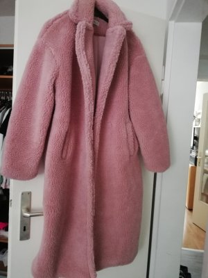 Oversized Coat dusky pink