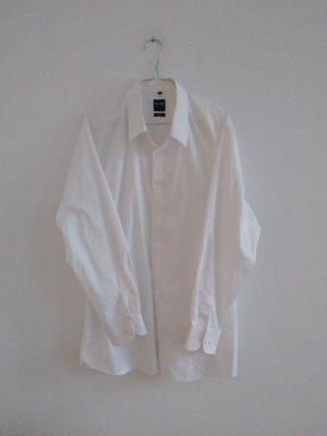 Lady Vintage Blusa taglie forti bianco