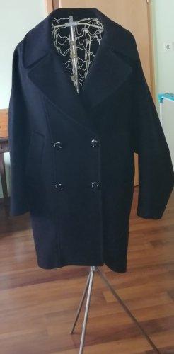 Zara Basic Marynarska kurtka ciemnoniebieski