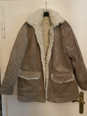 H&M Cord Jacket beige-natural white