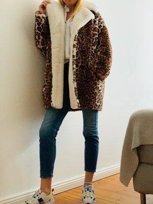 Oversized Faux-Fur Jacke von The Kooples