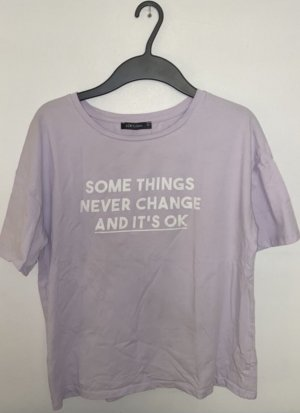 Oversized Fit T-Shirt mit Print