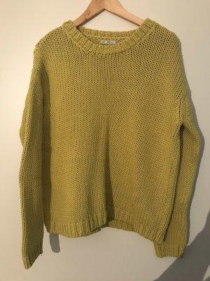 Oversized Grobstrick Pullover