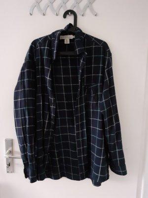 Oversized H&M L.O.G.G. Bluse aus Baumwolle und Leinen