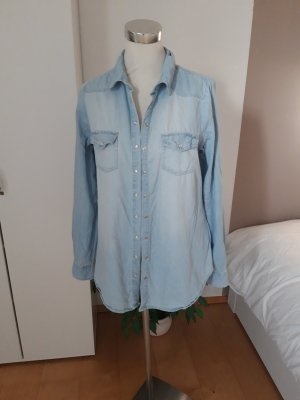 Amisu Denim Shirt light blue