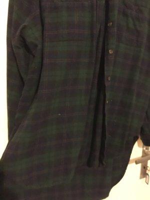 BDG Lumberjack Shirt dark green-dark blue