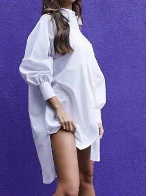 ASOS DESIGN Shirt met lange mouwen wit Katoen