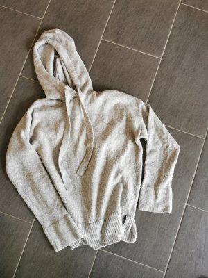H&M Camicia con cappuccio grigio chiaro