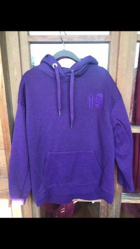 Oversized Sweater dark violet