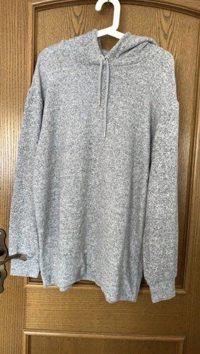 H&M Maglione oversize grigio-grigio chiaro