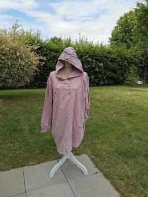 Ulla Popken Jersey con capucha rosa empolvado-rosa