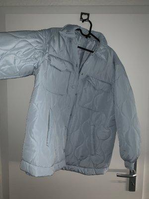 Oversized Jacke hellblau