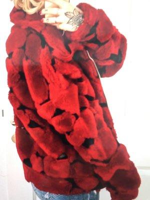 Oversized Jacke Jaded London Love Heart Fleece Special Edition S/M