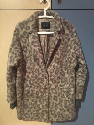 Oui Oversized Jacket multicolored wool