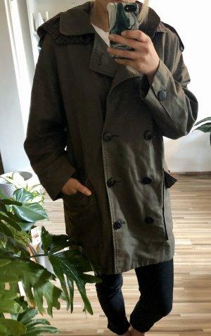 Mango Suit Kurtka oversize khaki