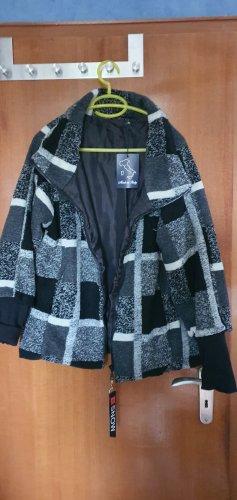 Oversized Jacke Wolle