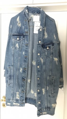 Oversized Jeans Jacke