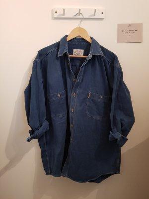 Armani Jeans Camicia denim multicolore