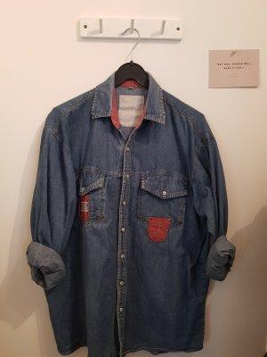 Unbekannte Marke Jeansowa koszula Wielokolorowy