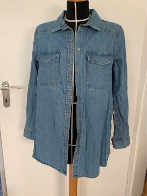 H&M Divided Camicia denim azzurro