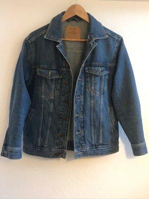 American Vintage Veste en jean bleuet coton