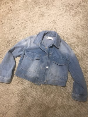 Zara Denim Jacket light blue-azure