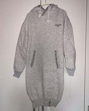 eight 2 nine Robe à capuche gris clair