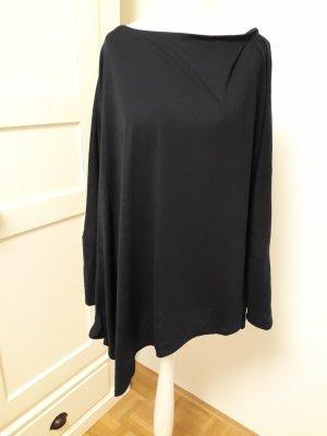 Camicia a tunica blu scuro Tessuto misto