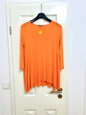 COS Oversized shirt oranje-neonoranje Lyocell