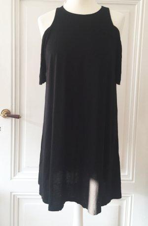 Gina Tricot Lang shirt zwart