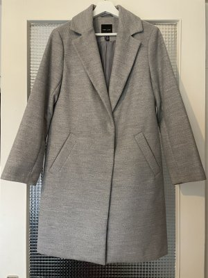 New Look Cappotto taglie forti grigio