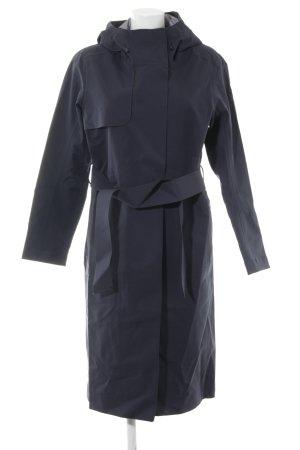 Oversized Mantel dunkelblau sportlicher Stil